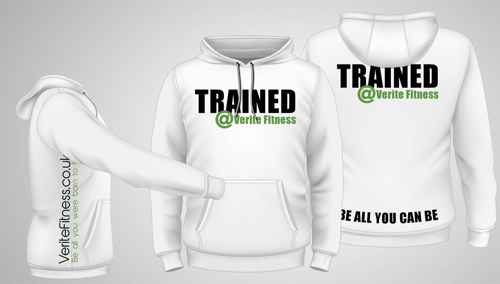 Training Hoodie White
