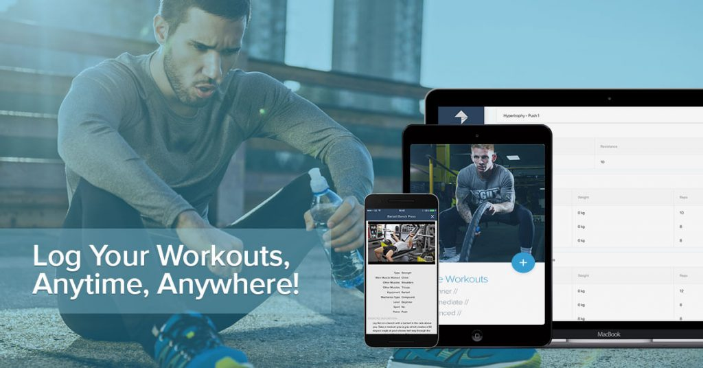 Log Workouts Anywhere
