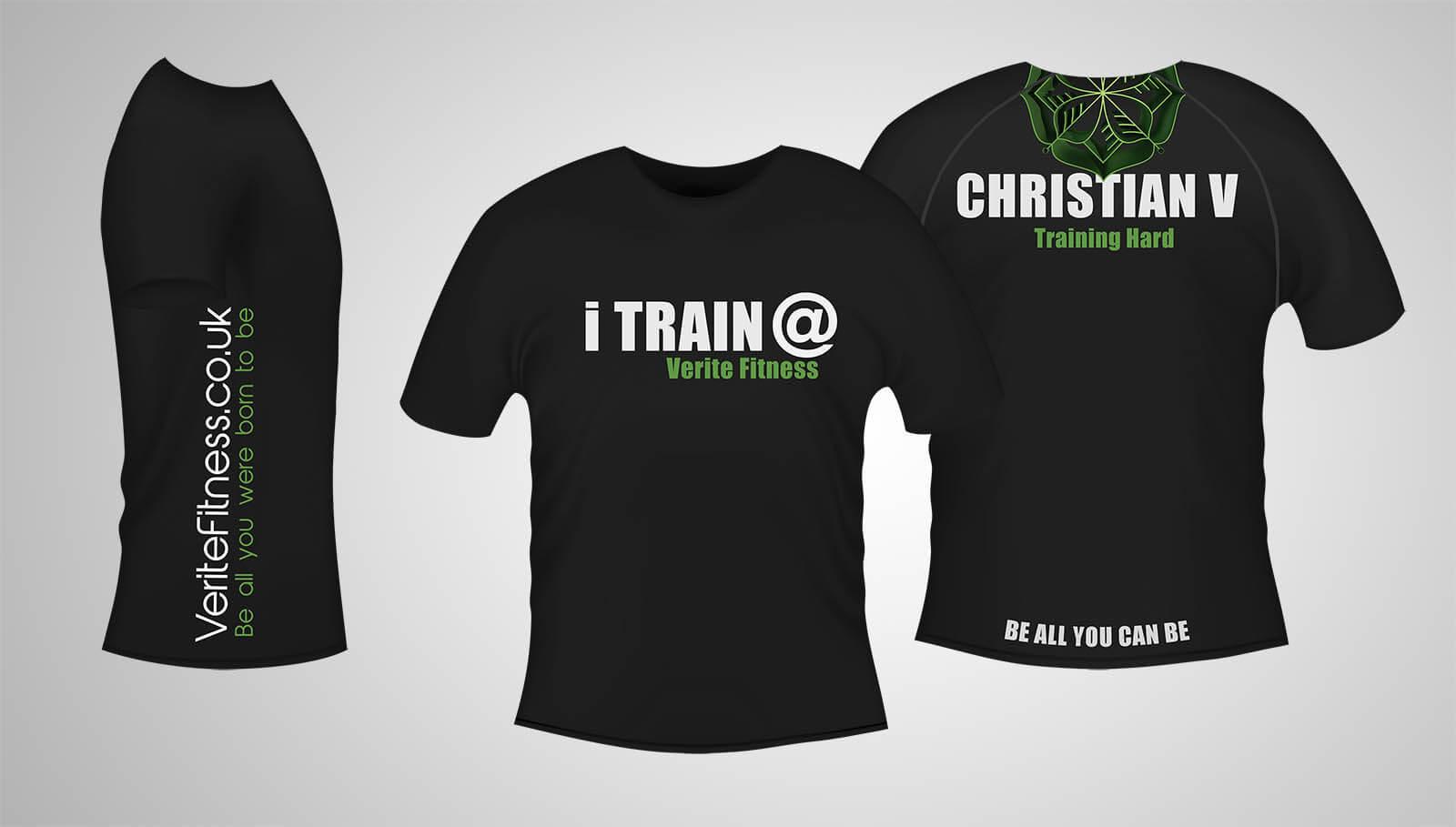 T-Shirt iTrain Black