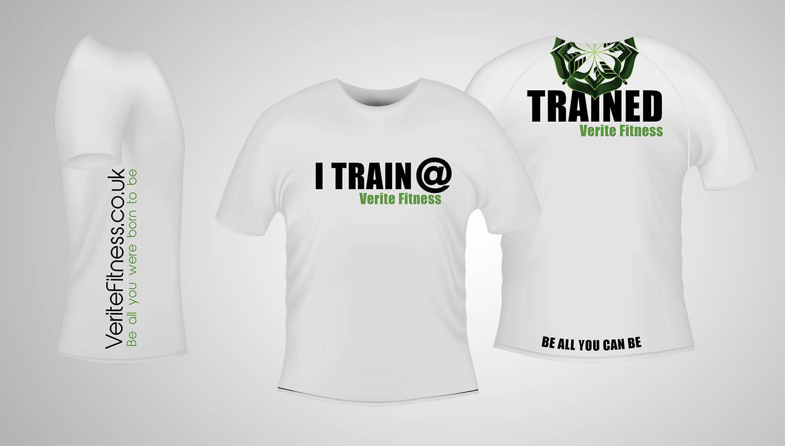 iTrain White T-Shirt